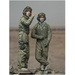 Operation Iraqi Freedom Tank Crew Set (2 Figuren)
