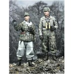 Winter Panzer Crew Set ( 2 Figuren)