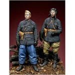 WW2 Russian Tank Crew Set (2 Figuren)