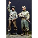 WW2 US Infantry Set (2 Figuren)