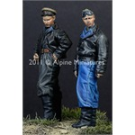 Russian AFV Crew 44/45 Set (2 Figuren)