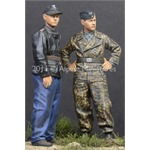 Tiger Aces in Normandy Set (2 Figuren)