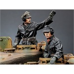 SS Panzer Commander Set (2 Figuren)