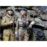 British RAC AFV Crew Set (2 Figuren)