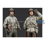 US Infantry Set WWII 2 Figuren
