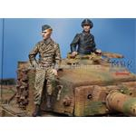 Waffen SS Tiger Crew Set 2 Fig.