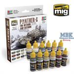 PANTHER G COLORS - FOR INTERIOR AND EXTERIOR