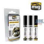 Oilbrusher BRIGHT METAL COLORS SET