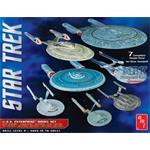 Star Trek U.S.S. Enterprise Model Set (7 Modelle)