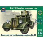 Russian armoured car BA-20