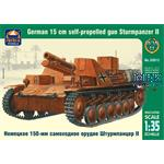 German 15cm self-prop gun Sturmpanzer II