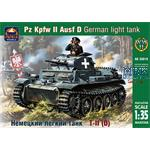 German light tank Pz Kpfw II Ausf D