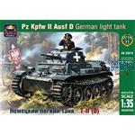 German light tank Pz Kpfw II Ausf D