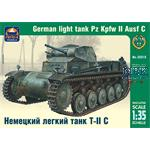 German light tank Pz Kpfw II Ausf C