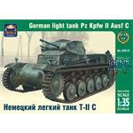 German light tank Pz Kpfw II Ausf C