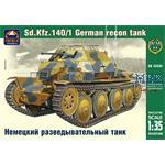 Ger. reconnaissance tank Sd. Kfz. 140/1