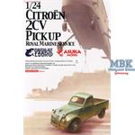 Citroen 2CV Transporter Royal Marines 1:24