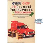Renault 4 Fourgon de Boulangerie 1:24