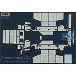 Zimmerit für StuG III Ausf.G MIAG (Dragon)