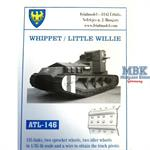WW1 tank Whippet / Little Willie track
