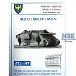 WW1 tank Mk. II / Mk. IV / Mk. V male/female track
