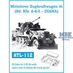 Mtl.Zgkrw.5t - Sd.Kfz.6 - 6/2 -
