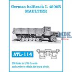 German halftrack L4500R Maultier