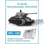 T-34/76 from November 1941/ 42/ 43