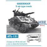 Sherman T-49 type track