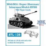 M/50 M/51 Super Sherman / M4A3 -HVSS T-80 type