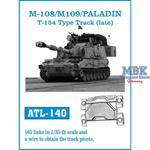 M108 / M109 / PALADIN T-154 Type track
