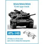 M-48 / M-60 / M-88 T142 type track