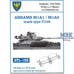 Abrams M1A1 / M1A2 track type T158
