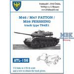 M46 / M47 / M26 track type T84E1