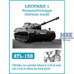 Leopard 1 Vorserie / Prototype D139E2 track