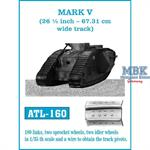 MARK V. 26½ inch wide track