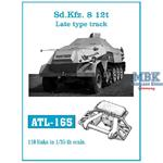 Sd.Kfz.8 12t Zgkrw. late type track