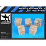 Sandbag armored  wall 1