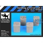 Sandbag armored  wall 2