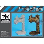Destroyed building base