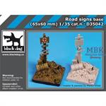 Road signs base