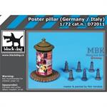 Poster pillar Germany-Italy