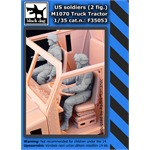 Us soldiers 2fig.M1070 Truck tractor