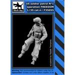 US soldier patrol operation FREEDOM N°1