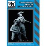 Israeli soldier patrol Set