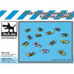 Deck tractors accessories set