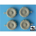Staghound snowchained wheels set