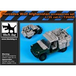 Mercedes Wolf Afghanistan accessories set