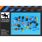 Moder plastic cans accessories set