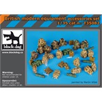 British modern equipment accessories set
